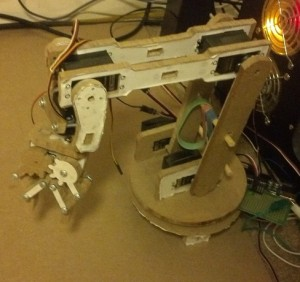 mdf prototype chess robot arm